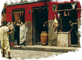 Ancient Roman's Market
